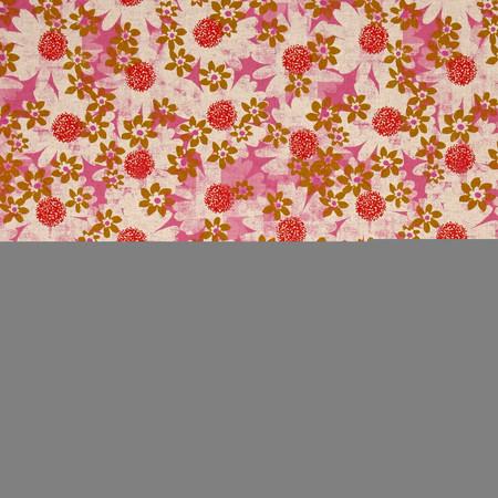 Cotton + Steel Trinket Canvas Daisy Fields Pink Fabric By The Yard