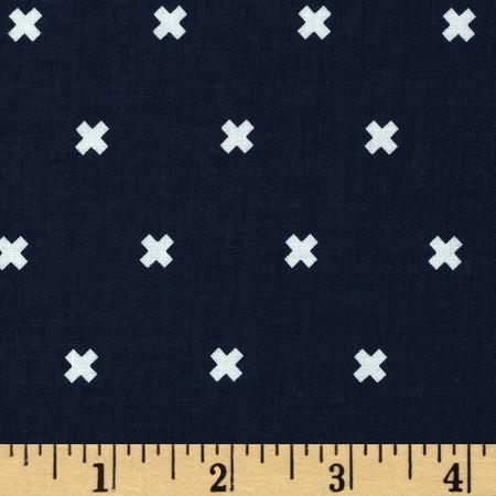 Cotton + Steel XOXO Night Owl Fabric By The Yard