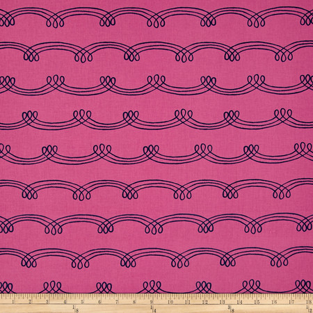 Cotton & Steel Zephyr Whirlwind Orchid Fabric