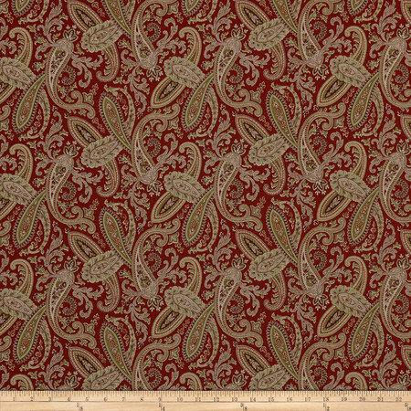 Covington Ballard Crimson Fabric