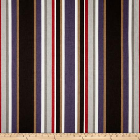 Covington Cameron Stripe Overcast Fabric