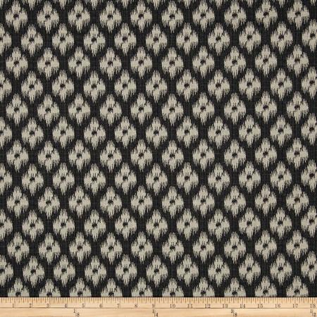 Covington Chester Jacquard Ebony Fabric