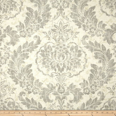 Covington Downton Blend Graphite Fabric By The Yard