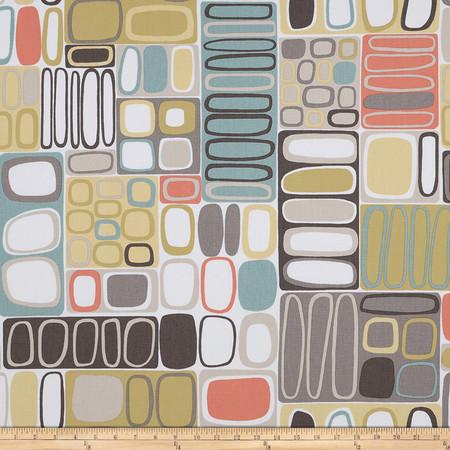 Covington Kandinsky Vintage Fabric