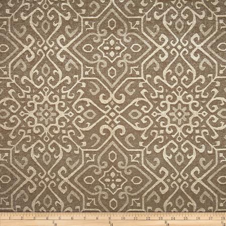 Covington Sardinia Chenille Jacquard Mink Fabric