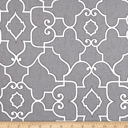 Covington Windsor Pewter Fabric