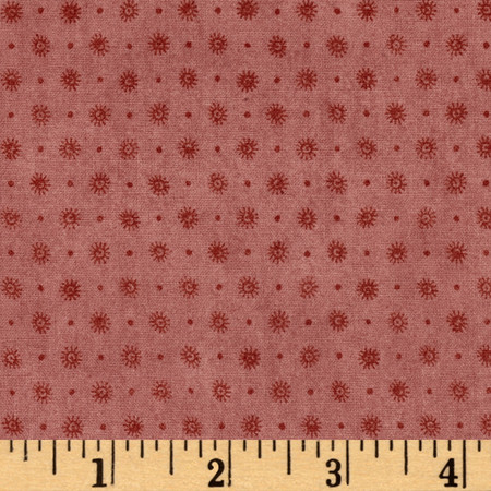 Curiosity Set Dots Rose Fabric By The Yard