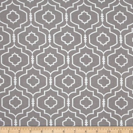 Darling Trellis Zinc Fabric