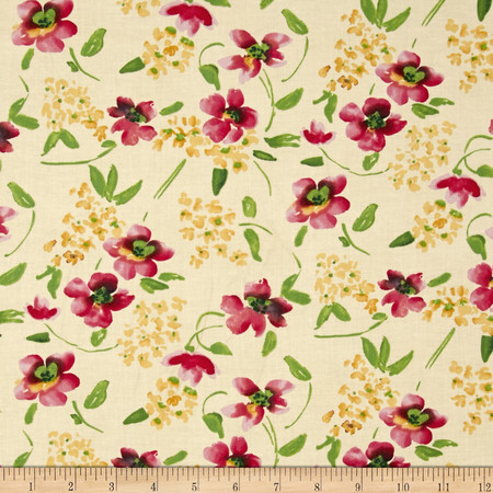 Dear Stella Adelaide Blossoms Multi Fabric By The Yard