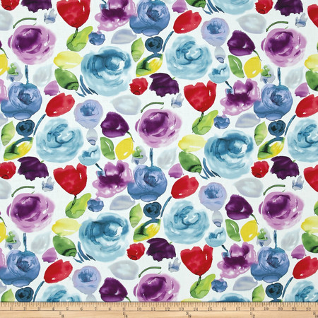 Dear Stella Adelaide Floral Wash Multi Fabric By The Yard