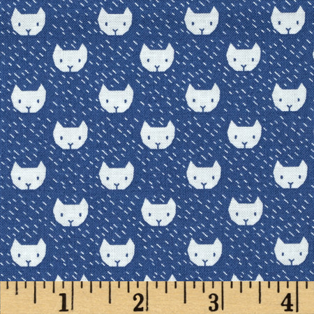 Dear Stella Dress Me for the Playground Cats Baltic Fabric