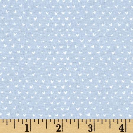 Dear Stella Hilltop Mini Hearts Steel Fabric