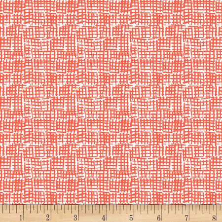 Dear Stella Intermix Net Marmalade Fabric By The Yard