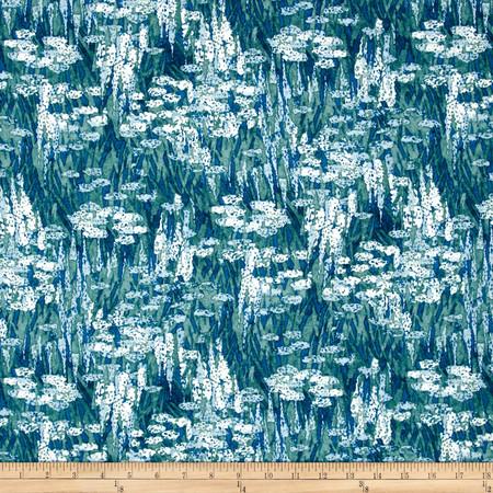 Dear Stella Lily Pad Lily Pad Multi Fabric By The Yard