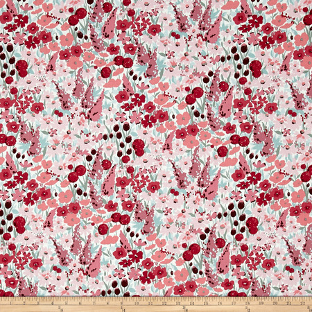 Dear Stella Love Letter Floral Multi Fabric By The Yard