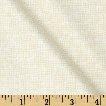 Dear Stella Mount Snow Net Beige Fabric By The Yard