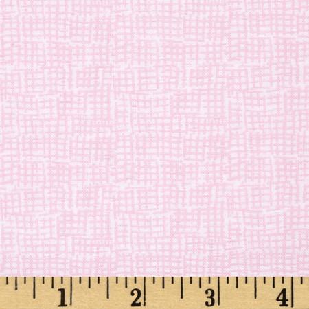 Dear Stella Mount Snow Net Blush Fabric