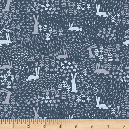 Dear Stella The Big Chill Midnight Bounce Navy Fabric By The Yard