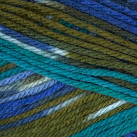 Deborah Norville Everyday Prints Yarn 30 Mediterranean