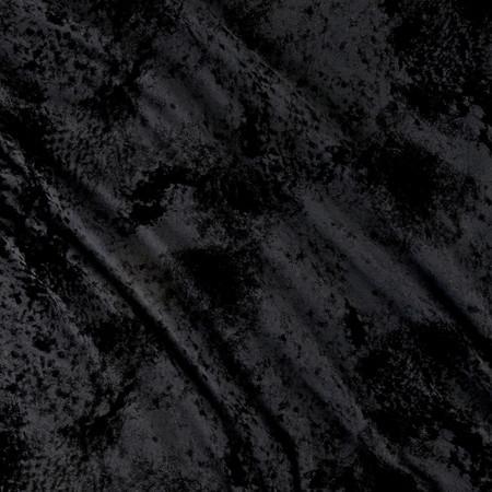 Denim Knit Tye Dye Blue/Black Fabric