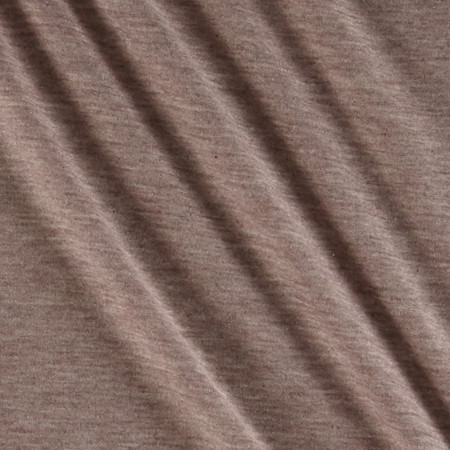 Designer Poly Jersey Knit Oatmeal Fabric