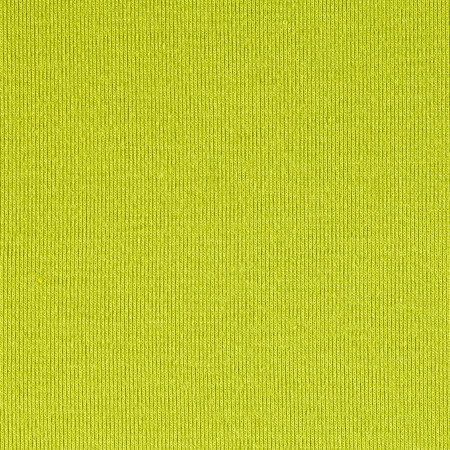 Designer Rib Jersey Knit Solid Lime Fabric