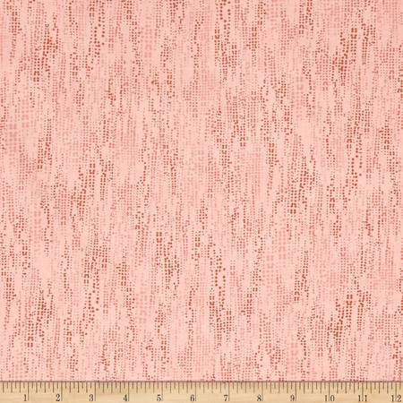 Diamonds In The Sky Diamond Dot Texture Coral Fabric By The Yard