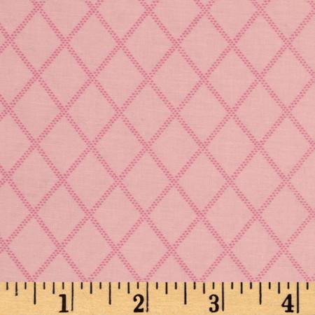 Diamonds Pink Fabric
