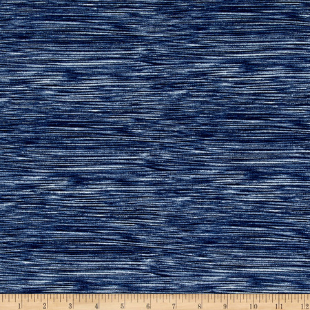 Double Brushed Spandex Jersey Knit Milana Royal  Fabric By The Yard