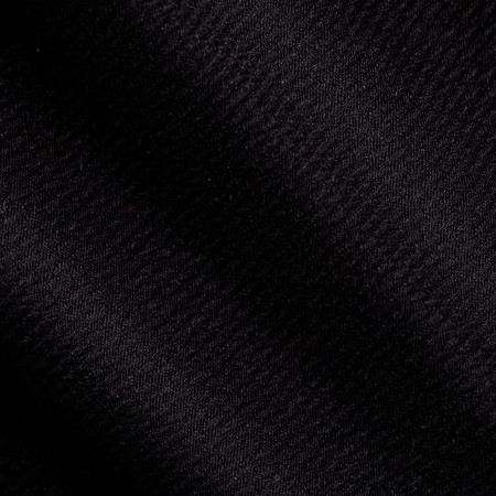 Double Knit Solid Jet Black Fabric