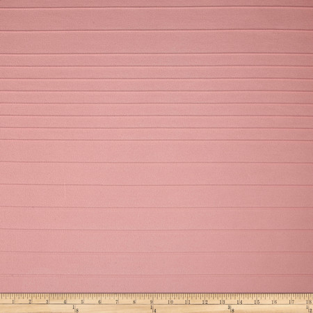 Double Knit Stripe Baby Pink Fabric By The Yard
