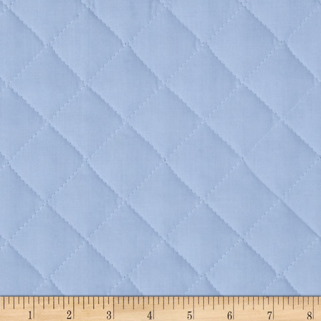 Double Sided Quilted Broadcloth Rock-A-Bye Blue Fabric By The Yard