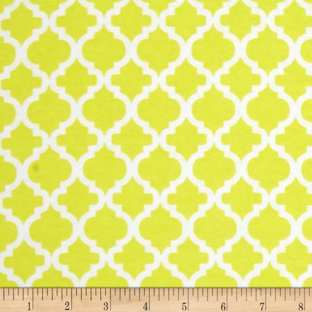 Dreamland Flannel Bella Sunshine Yellow Fabric By The Yard