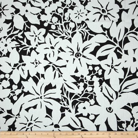 Duralee Blythe Black Fabric