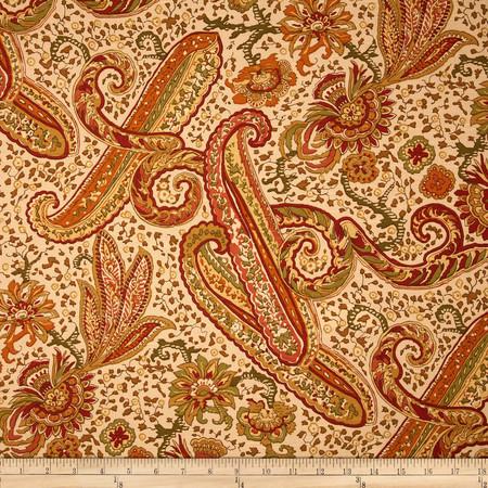 Duralee Carlette Blend Spice Fabric