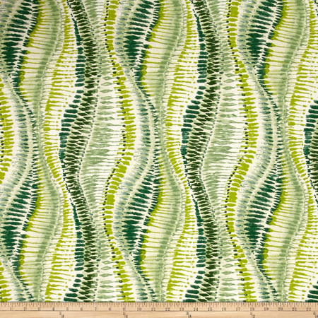 Duralee Fountain Bleau Jungle Green Fabric By The Yard
