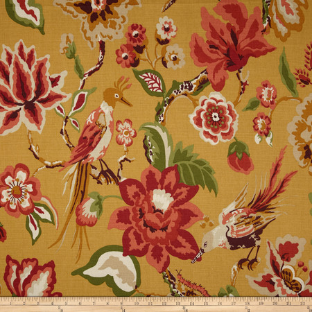 Duralee Home Cavendish Gold Fabric