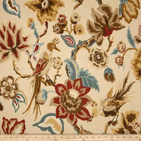 Duralee Home Cavendish Natural Fabric