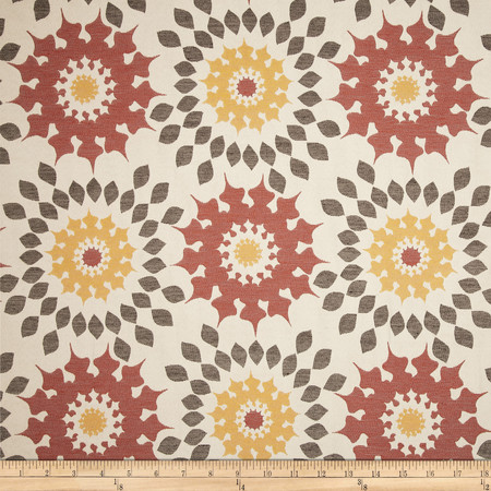 Duralee Home Market Upholstery Jacquard Spice Fabric
