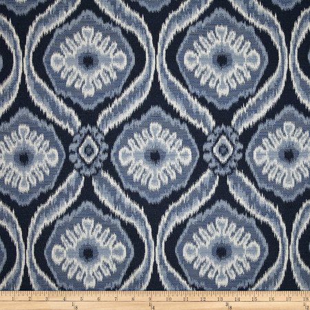 Duralee Home Mecca Upholstery Jacquard Navy Fabric