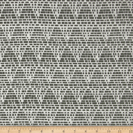 Duralee Home Tagine Upholstery Jacquard Black/White Fabric