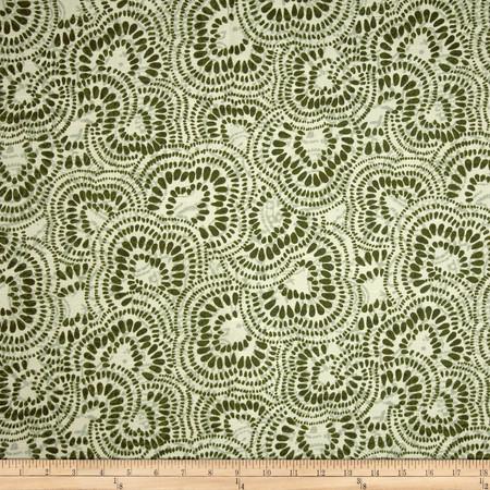 Duralee John Olive Fabric