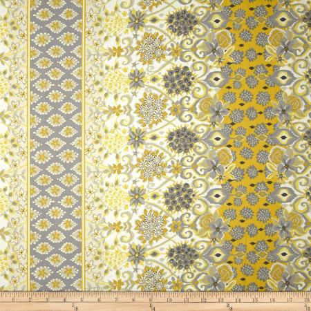 Duralee Robby Yellow Fabric