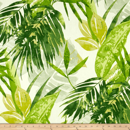 Duralee Solei Jungle Green Fabric By The Yard