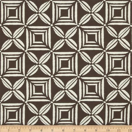 Duralee Vera Cruz Jacquard Chocolate Fabric