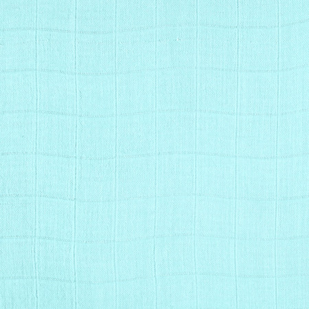 Embrace Bamboo Double Gauze Solid Aqua Fabric By The Yard
