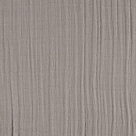 Embrace Double Gauze Solid Silver Fabric By The Yard
