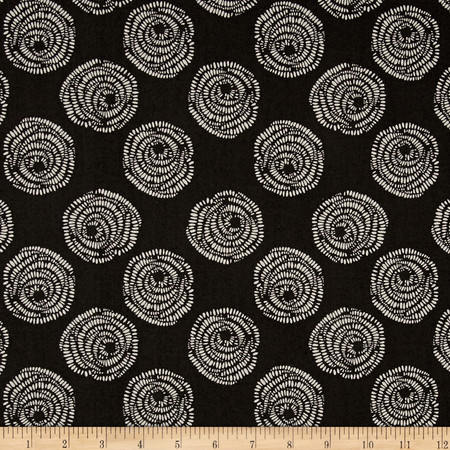 Equestrian Rosettes Carbon Fabric By The Yard