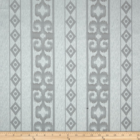 Eroica Bellagio Jacquard Silver Fabric