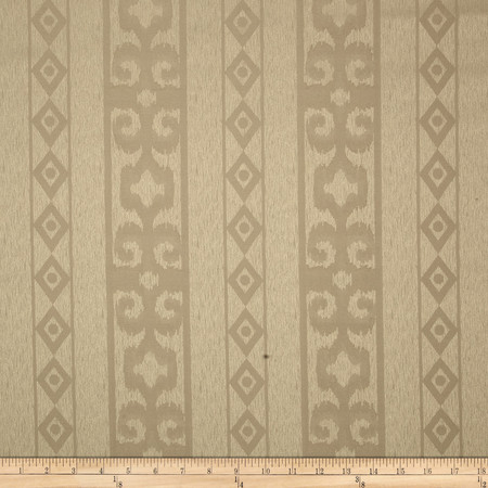 Eroica Bellagio Jacquard Taupe Fabric By The Yard